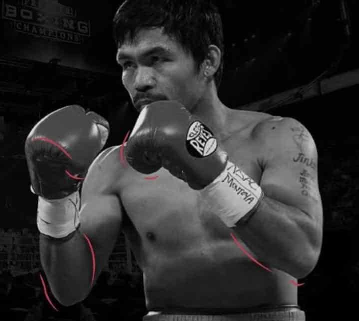 What boxing gloves does Manny Pacquiao wear?