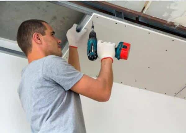 How to hang a heavy bag from drywall ceiling